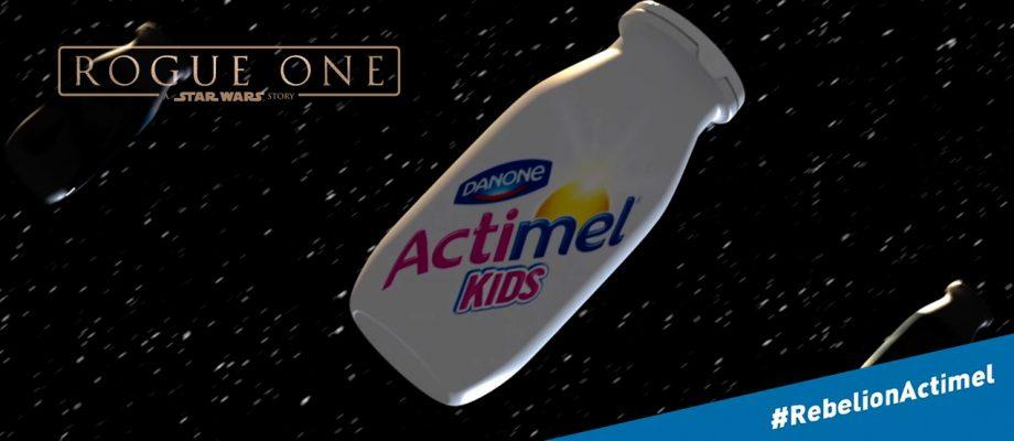 """Actimel activa 5 eventos para el estreno de """"Rogue One"""""""